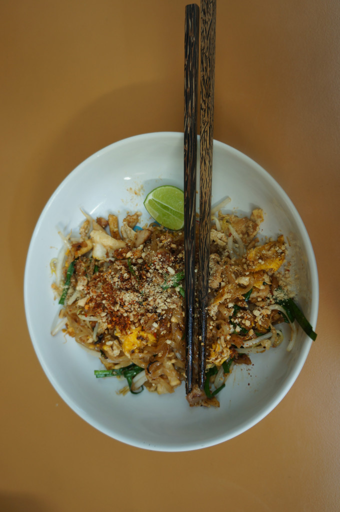 Phad Thai - delicious in two minutes on the wok
