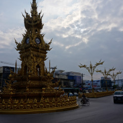 Our first impression of Chiang Rai was pretty impressive