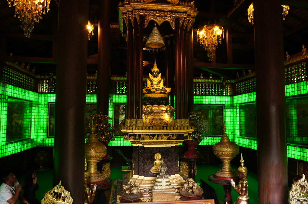 The Jade Buddha room at Wat Phra Kaew