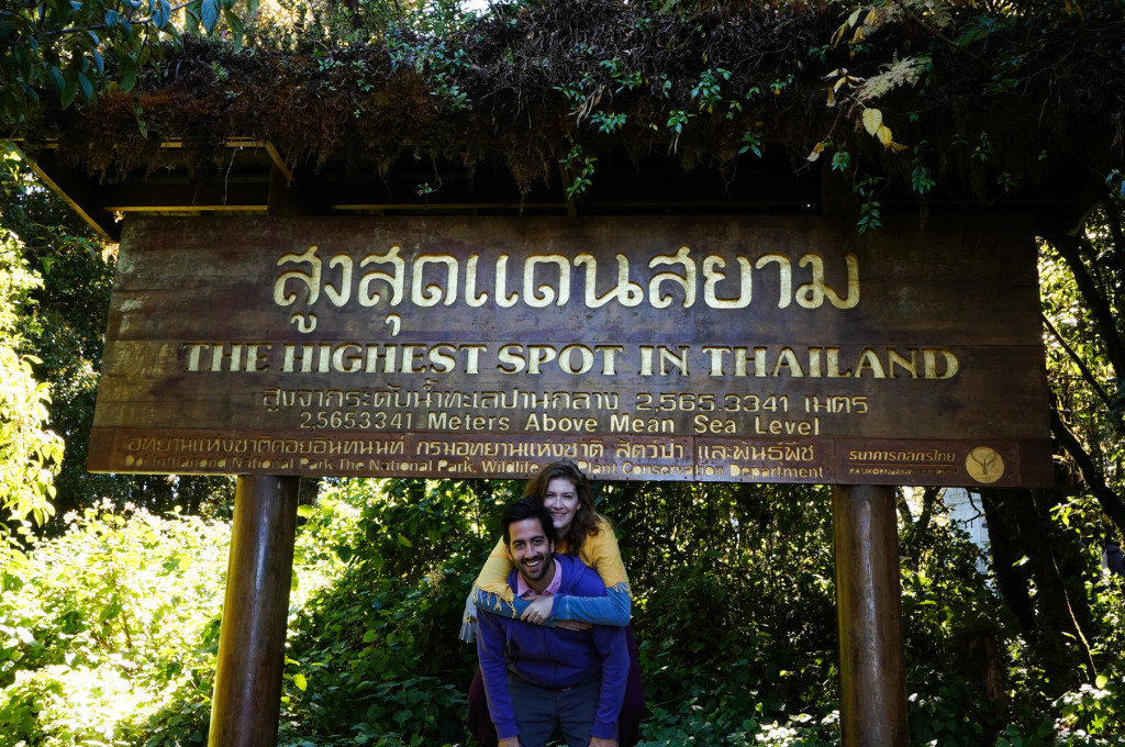The tallest spot in Thailand!